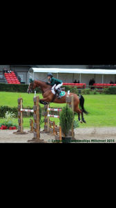 Robyn Fagan on Holly Castleforbes . COH European Championships 2016